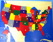 North America Puzzle Map United States Puzzle Map