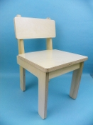 Solid Seat Baltic Birch Chair