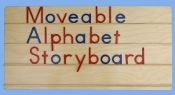 Moveable Alphabet Story Board