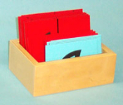 Box for Sandpaper Letters