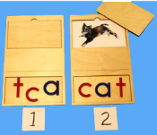 Phonetic Card, 3 letters, CAT