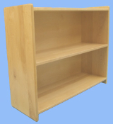 3 Shelf Unit, Maple