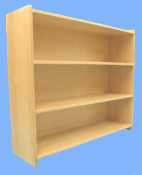 4 Shelf Unit, Maple