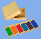Color Wheel Box, Tertiary Colors