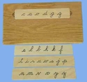 Guided Letters Cursive