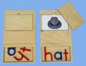 Phonetic Card, 3 letters, HAT
