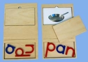 Phonetic Card, 3 letters, PAN