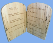 Ten Commandments tablets
