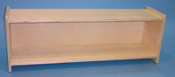 "Maple Toddler Shelf 11"" deep"