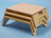 Stackable Tables, Laminated (maple)