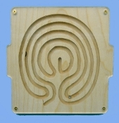 Marble Tray, Labyrinth, 5 circuit